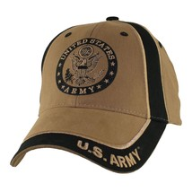 US ARMY WITH SEAL- Two Tone Officially Licensed Military Hat Baseball Ca... - $23.95