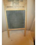 SUNNYLAND Columbus Washboard Co. Galvanized No. 2090 - Laundry Wash Board - $37.50