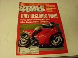 Cycle World Magazine September 1986 - $6.93