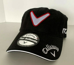NEW! CALLAWAY Adult Unisex TOURi SERIES RAZR Adjustable Cap-Black - $23.40