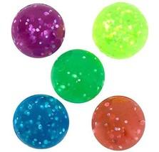 Rhode Island Novelty 27mm 1 Inch Glitter Bouncy Balls, 144 Balls - $17.95