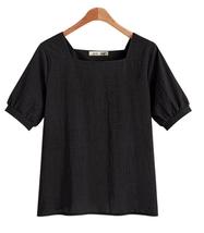 2018 Summer 5XL Plus Size Women Cotton linen Shirts Tunics  - $18.99