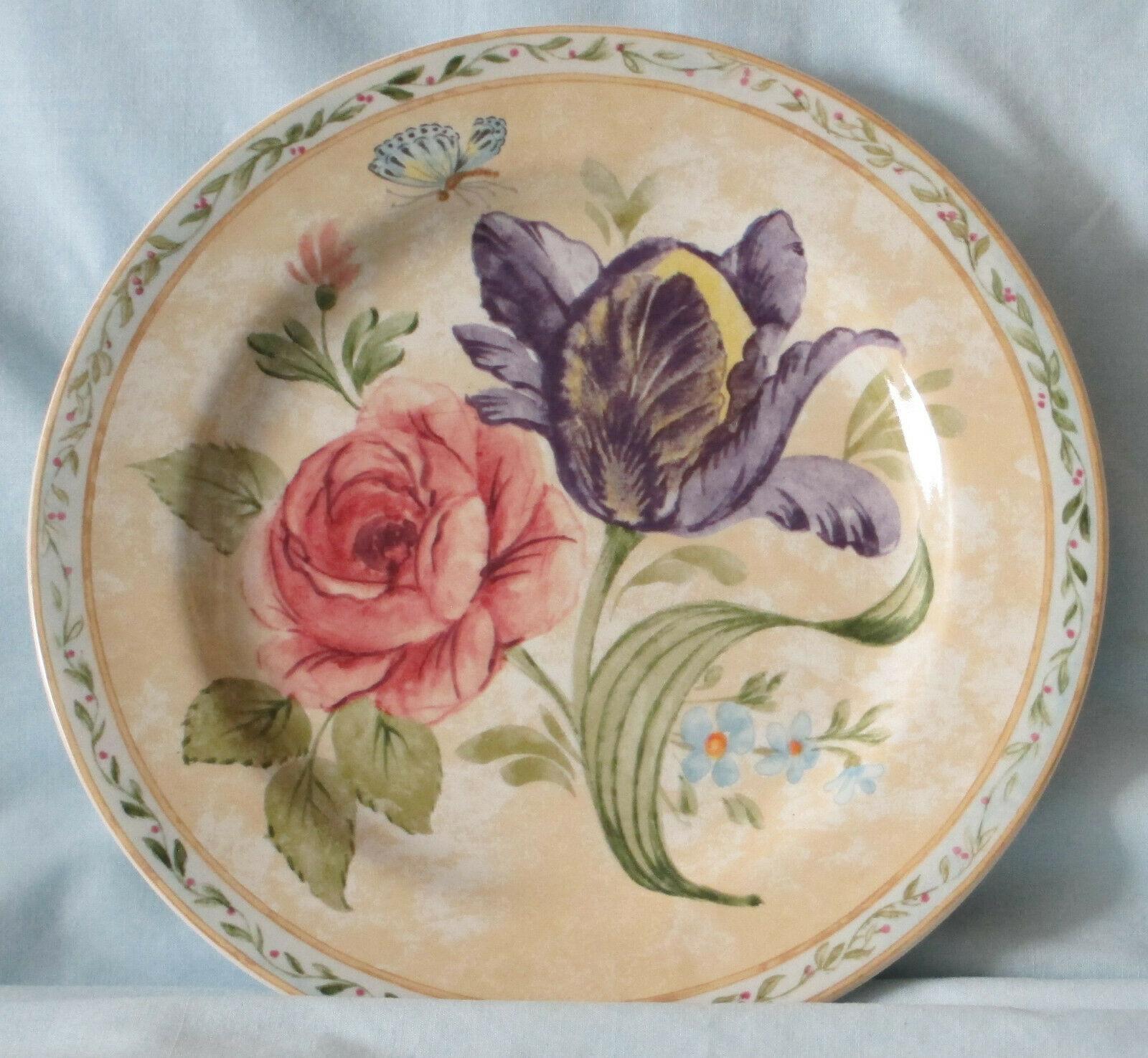 American Atelier 5024 Floral Daze Salad Plate set of 4 image 3