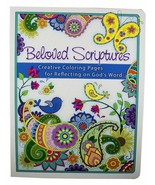 Beloved Scriptures Creative Coloring Pages Reflecting on God's Word Insp... - $13.05