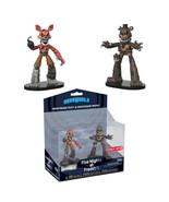 Five Nights at Freddy's HeroWorld Target Figure 2 Pack Nightmare Foxy Fr... - $29.90