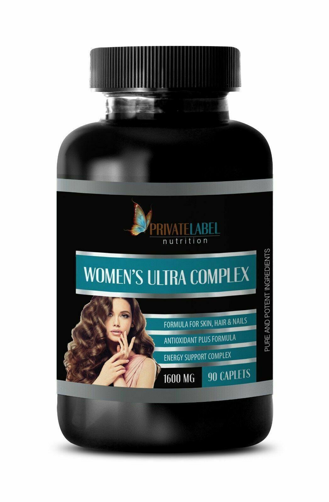 female hormones WOMEN'S ULTRA COMPLEX estrogen pills 1 Bottle 90 Caplets NATURAL - $69.20