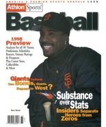 Barry Bonds unsigned San Francisco Giants Athlon Sports 1998 MLB Basebal... - $10.00