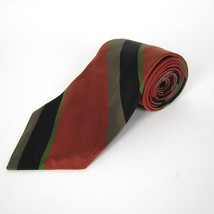 Robert Talbott Charter's Men's Neck Tie Striped Hand Sewn 100% Silk - $28.88