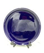 """Crate & Barrel Spal Porcelain Portugal Solid Blue 12-3/4"""" Serving Platter - $29.69"""