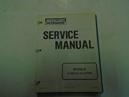 Mercury Fuerabordas Servicio Tienda Manual Modelos V-300 V-3.4 90-43508 OEM - $29.69