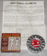 Vintage Walk-A-Matic for Joggers & Walkers 1969 - $9.99