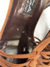 Via Spiga Pre-owned Brown Suede Strappy Italian Sandals, Sz. 7.5 MSRP $225 image 5