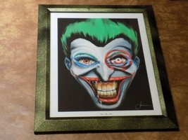 Halloween Suicide Squad Movie Scary Joker Cadre Mural Wall Picture Frame - $39.60