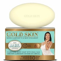 Gold Skin Clarifying Body Soap with Snail Slime 6 oz/180 g (12 Bars) - $95.00