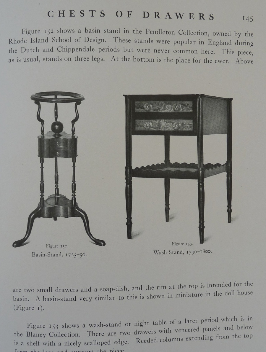Colonial Furniture in America book Vol I Lockwood 1903 vintage 1903