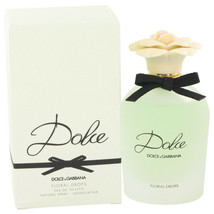 Dolce Floral Drops by Dolce & Gabbana Eau De Toilette Spray 2.5 oz (Women) - $82.31