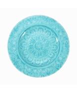 "Better Homes & Gardens ~ Four (4) ~ 8.5"" Melamine Salad Plate ~ Teal ~ M... - $16.00"