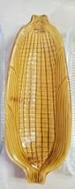 California Pottery Yellow Corn Cob Dish Vintage Free Shipping - $16.82