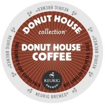 Donut House Donut Coffee, 96 count Keurig K cups, FREE SHIPPING ! - $61.70