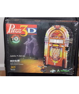 1999 Wrebbit Rock-Ola Jukebox 365 Piece 3D Puzzle New In Th Box - $34.99