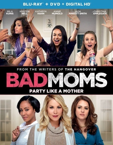 Bad Moms (Blu Ray/DVD W/Digital Hd/Uv)