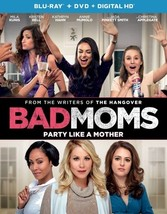 Bad Moms (Blu Ray/DVD W/Digital Hd/Uv)