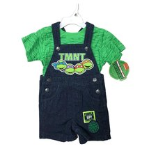 DISNEY BABY JUMPERS 2 PIECES SET 12-24 MONTHS (12 MONTHS, NINJA TUTRLES ... - $18.61