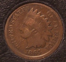 1864 Indian Head Cent G4 #0050 - $11.99