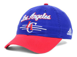 Los Angeles Clippers Adidas 2 Tone NBA Basketball Slouch Adjustable Cap Hat - $18.99