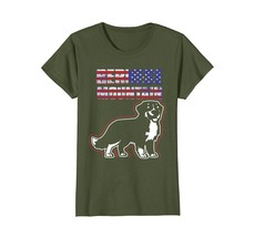 I Love My Bernese Mountain T-shirt Bernese Mountain Flag - $19.99+