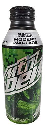 Primary image for Mtn Dew Call of Duty Modern Warfare Aluminum Resealble Can w/Codes Intact (6)