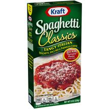 Kraft Foods Classics Tangy Italian Spaghetti 8 oz - $2.99