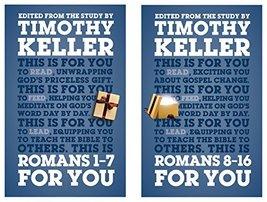 Romans For You Set (God's Word for You) [Hardcover] Timothy Keller - $39.55