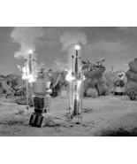 Lost In Space Robot Causing Explosion 8x10 Photo (20x25 cm approx) - $9.75