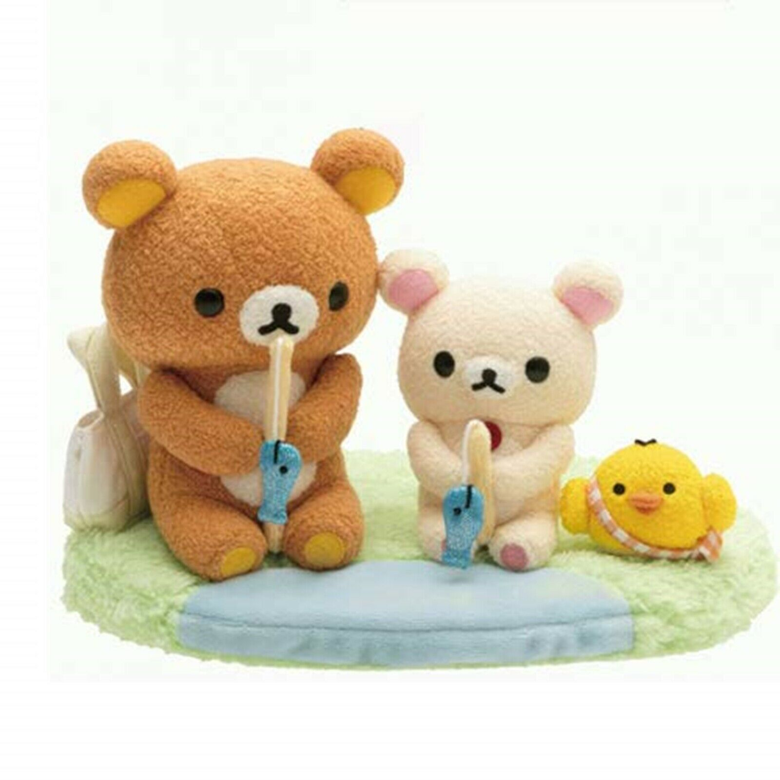 Primary image for Rilakkuma Netflix Original Series Rilakkuma and Kaoru Plush Doll Fishing