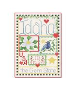 Idaho Little State Sampler cross stitch chart Alma Lynne Originals - $6.50