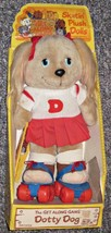 """1984 NEW Tomy The Get Along Gang DOTTY DOG 14"""" Roller Skater Plush Doll Toy - $37.74"""
