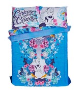 Disney Alice In Wonderland Floral Full/Queen Comforter & 4 Pc Full Sheet... - $74.99