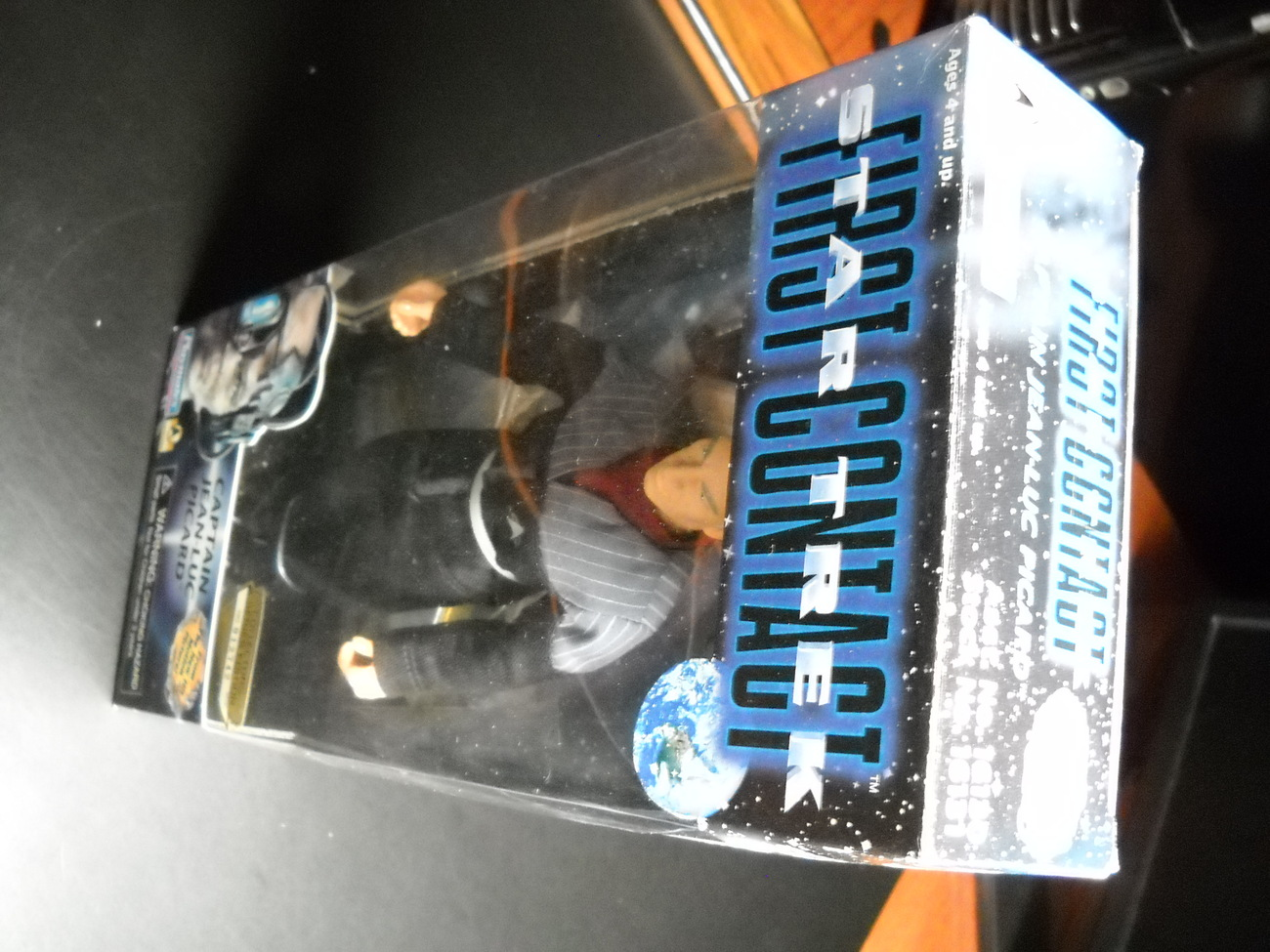 Star Trek First Contact Jean-Luc Picard 1996 9 Inch Sealed in Box Playmates