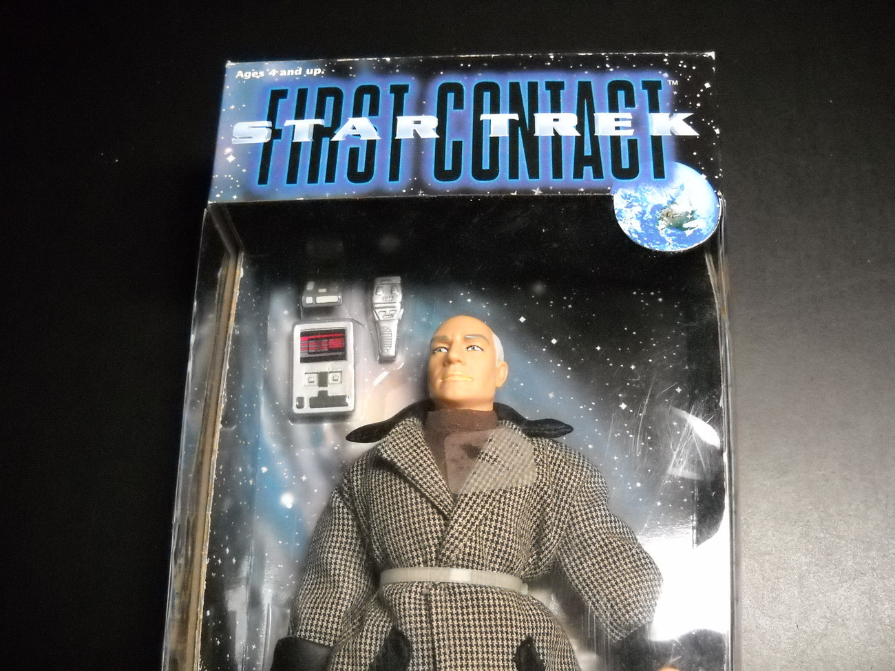Star Trek First Contact Jean-Luc Picard Civilian Garb 9 Inch Playmates Sealed