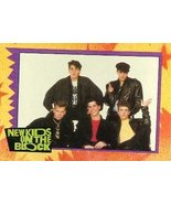 New Kids on the Block trading card 1989 Topps #61 NKOTB Jonathan Knight ... - $4.00