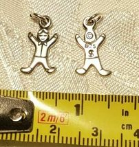 """FROM Cradle To College"" Sterling Silver Charms .925 You Choose image 11"