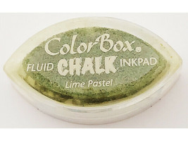 Colorbox Fluid Chalk Cat Eye Ink Pad, Lime Pastel