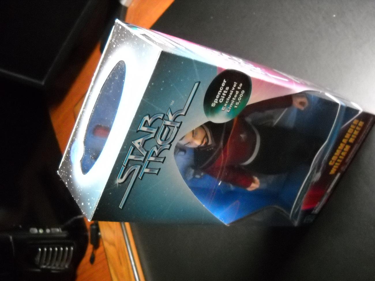 Star Trek Spencer Gift Commander William Riker Exclusive 1997 Playmates Sealed