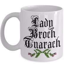 Claire Fraser Coffee Mug Mothers Day Outlander Fan Gift Lady Broch Tuarach Cup - $14.65+