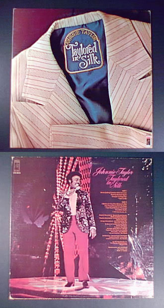 soul JOHNNIE TAYLOR Taylored in Silk 1973 STAX LP