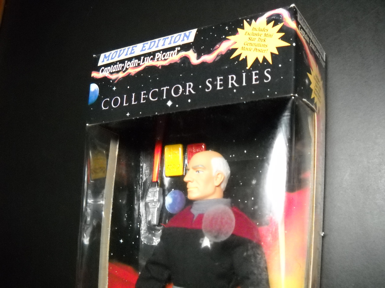 Star Trek Collector Generations Movie Edition Captain Jean-Luc Picard Sealed Box