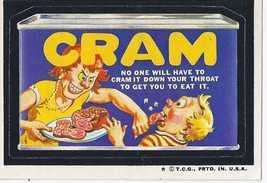 1973/4/ 5th S Topps Wacky Package Sticker Cram - $1.95