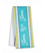 NEW WITH TAGS - Fiestaware Kitchen Towel - Turquoise - $13.49