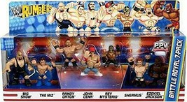 WWE Wrestling Rumblers Series 2 Battle Royal 7-Pack Mini Figure Set #2 - $69.54